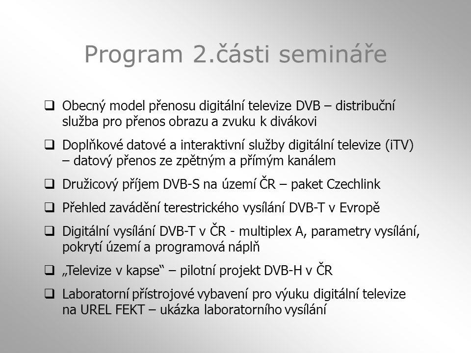 Program 2.části semináře