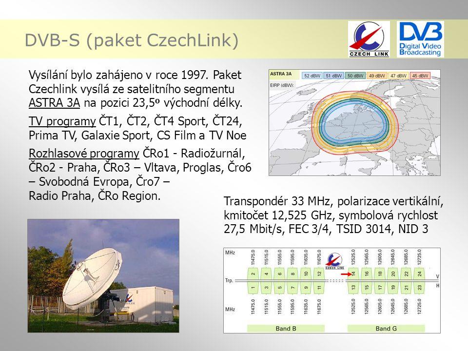 DVB-S (paket CzechLink)