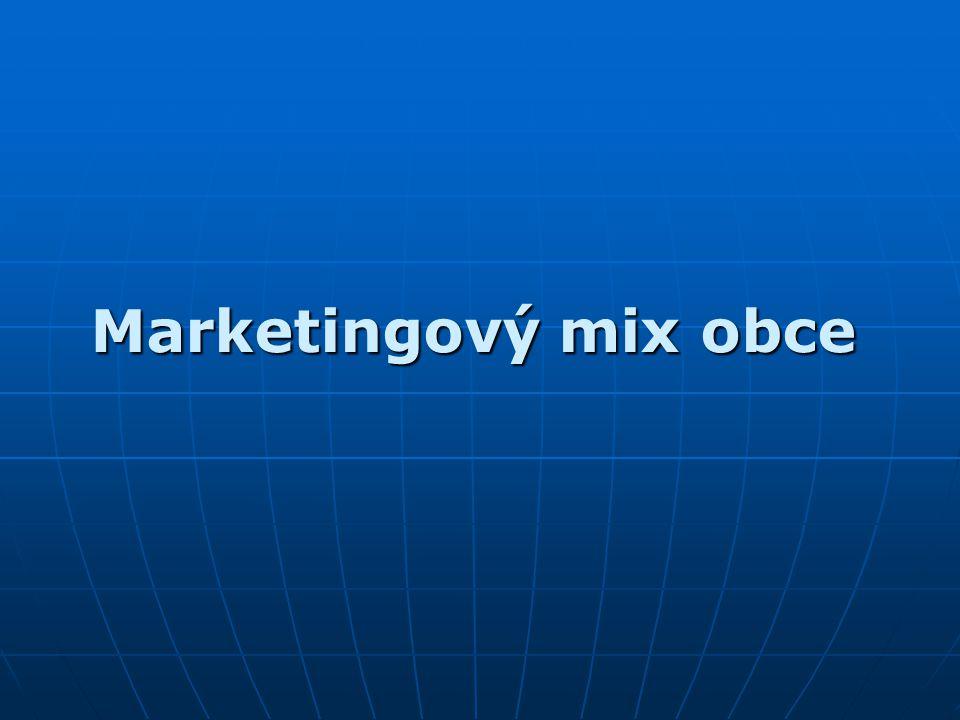 Marketingový mix obce