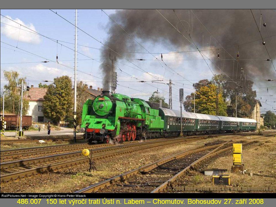 486. 007 150 let výročí trati Ústí n. Labem – Chomutov. Bohosudov 27