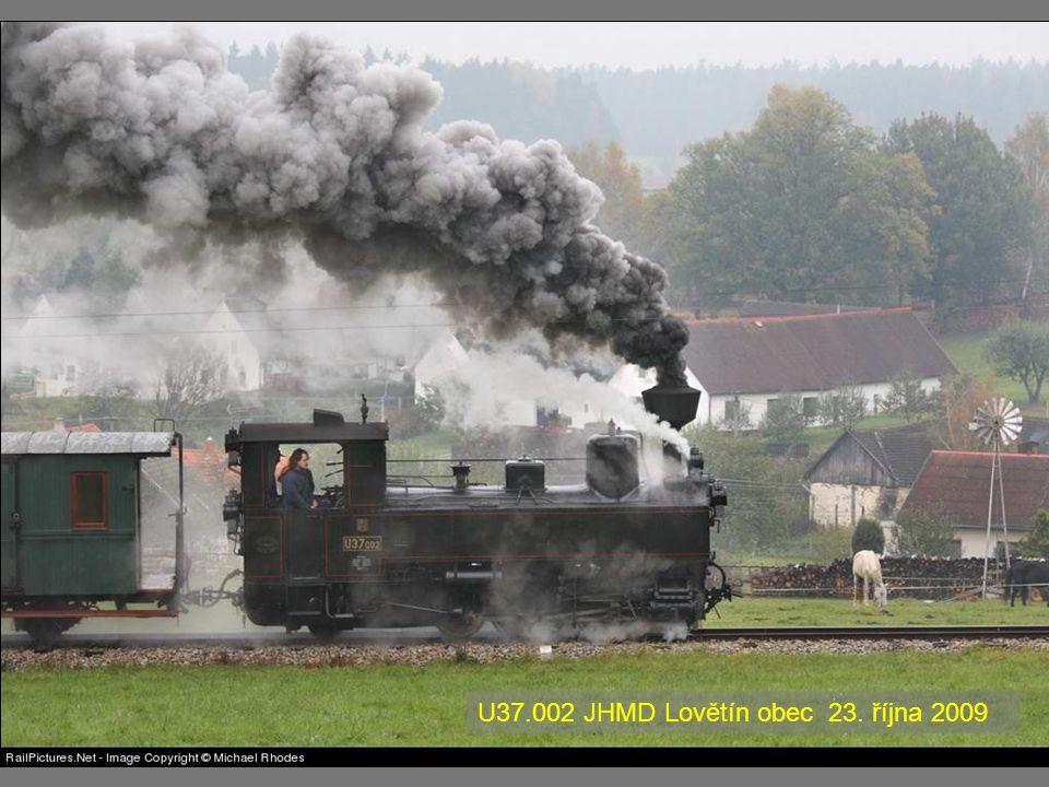 U37.002 JHMD Lovětín obec 23. října 2009