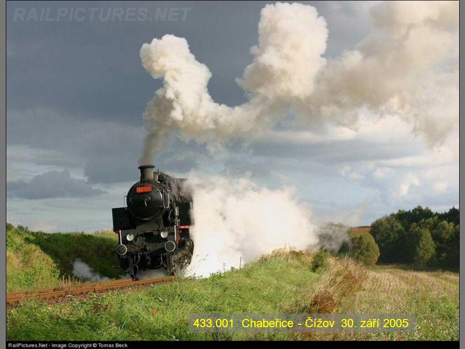 433.001 Chabeřice - Čížov 30. září 2005