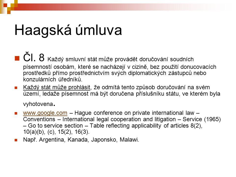Haagská úmluva