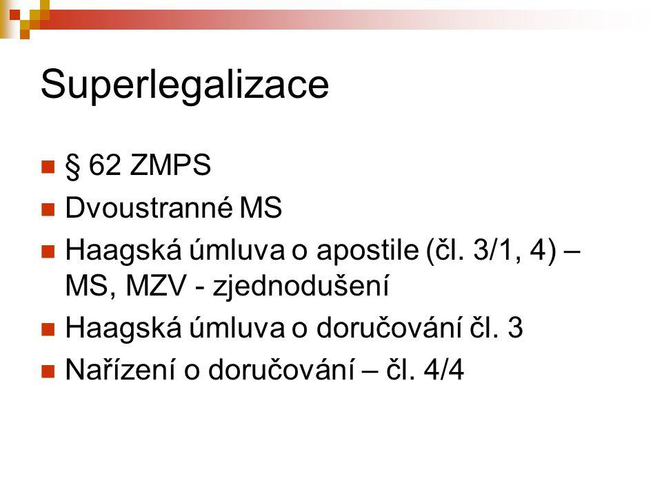 Superlegalizace § 62 ZMPS Dvoustranné MS
