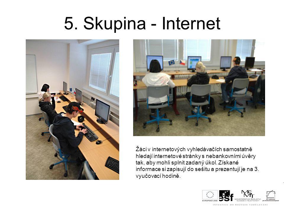 5. Skupina - Internet