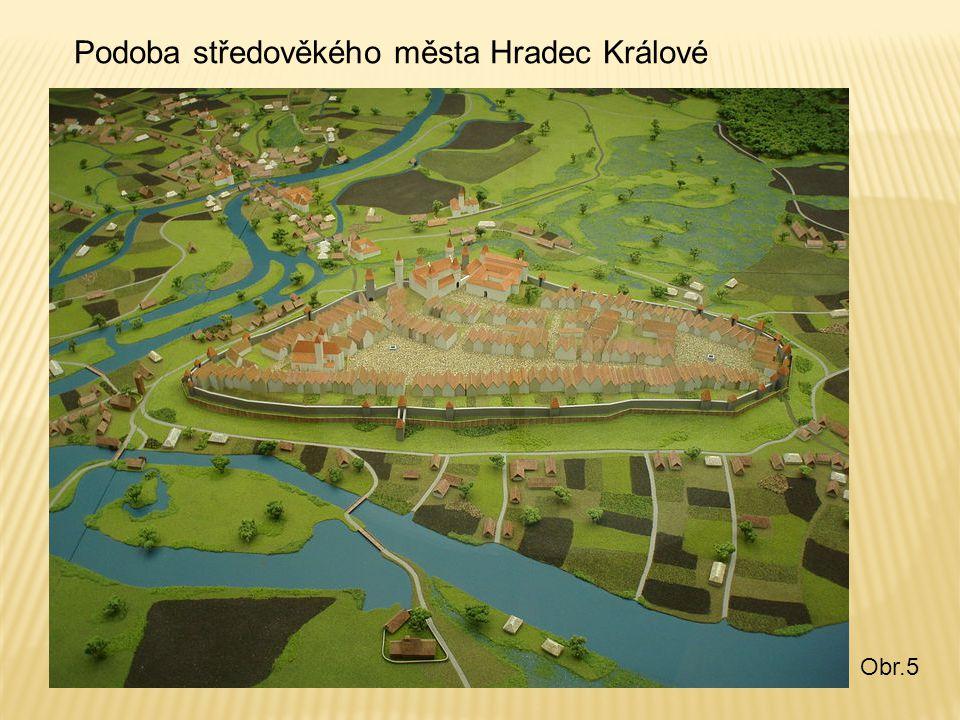 Podoba středověkého města Hradec Králové