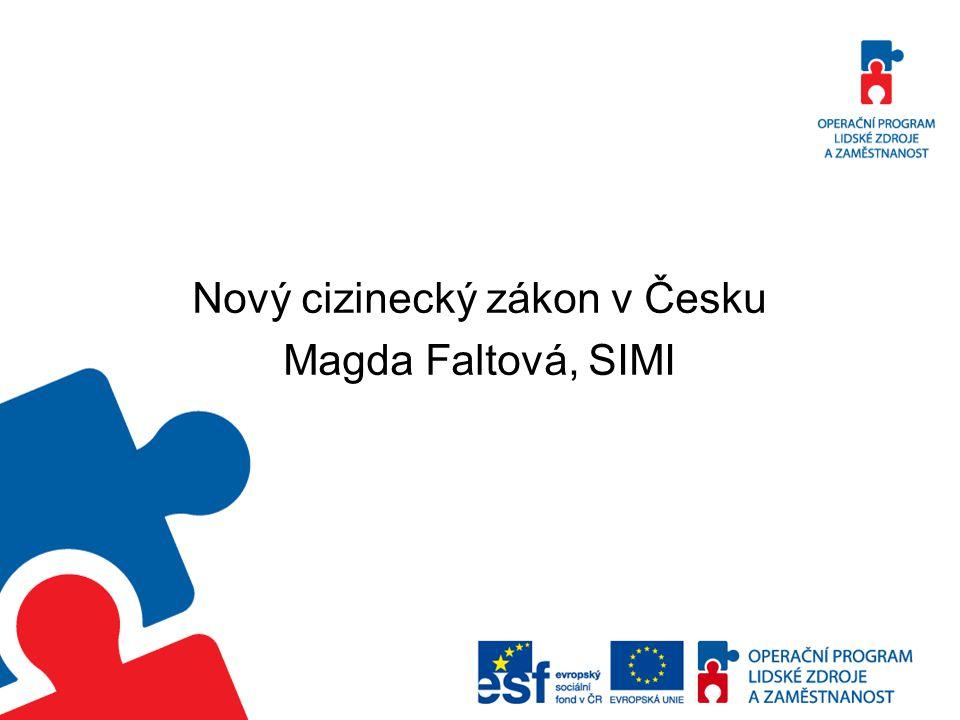 Nový cizinecký zákon v Česku