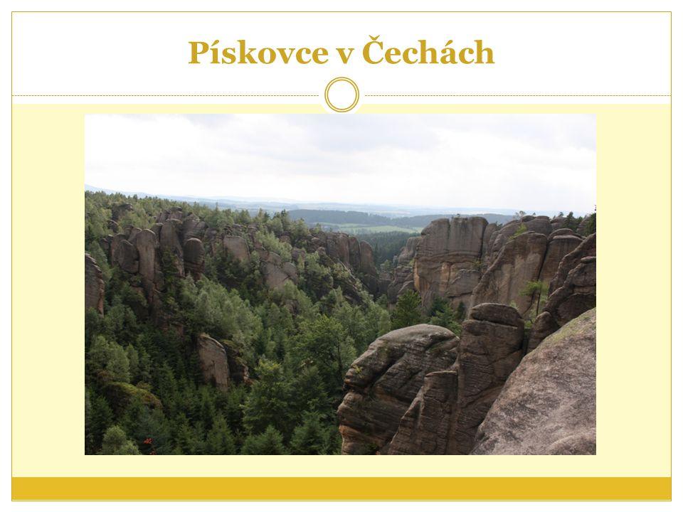 Pískovce v Čechách