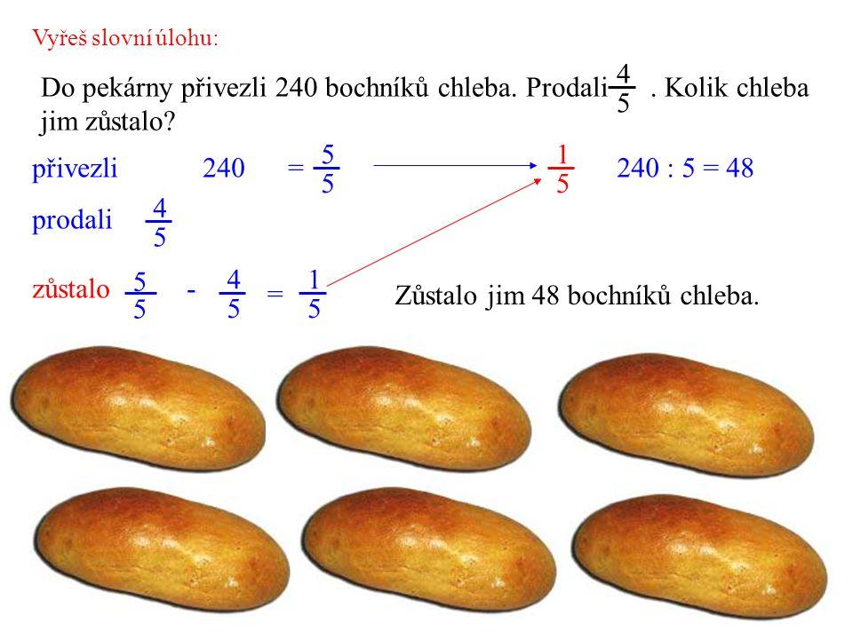 Zůstalo jim 48 bochníků chleba.