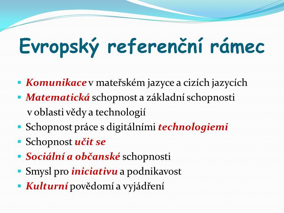 Evropský referenční rámec