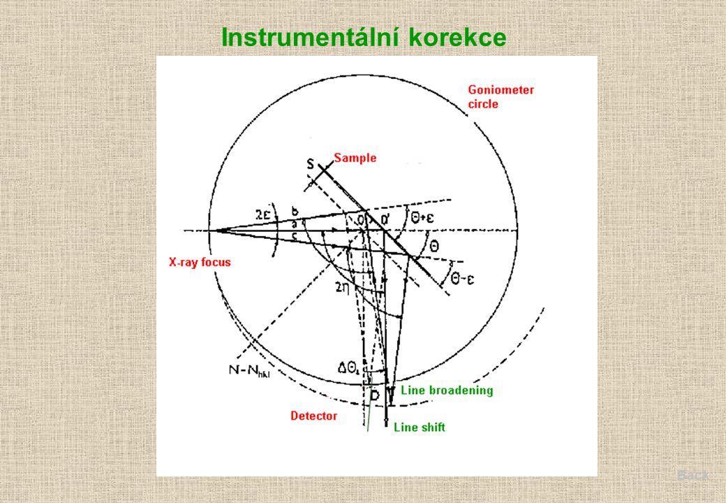 Instrumentální korekce