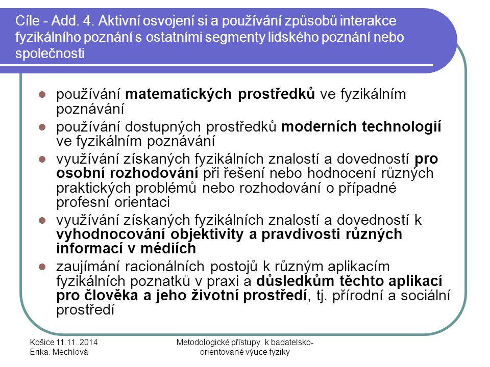 Metodologické přístupy k badatelsko-orientované výuce fyziky