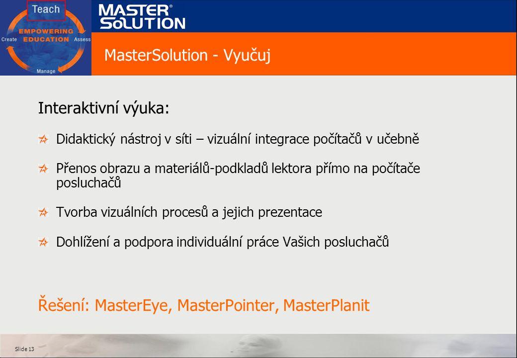 MasterSolution - Vyučuj