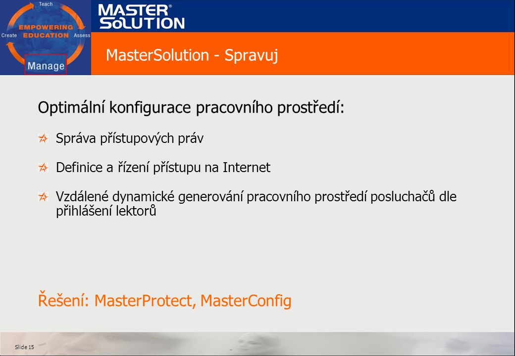 MasterSolution - Spravuj