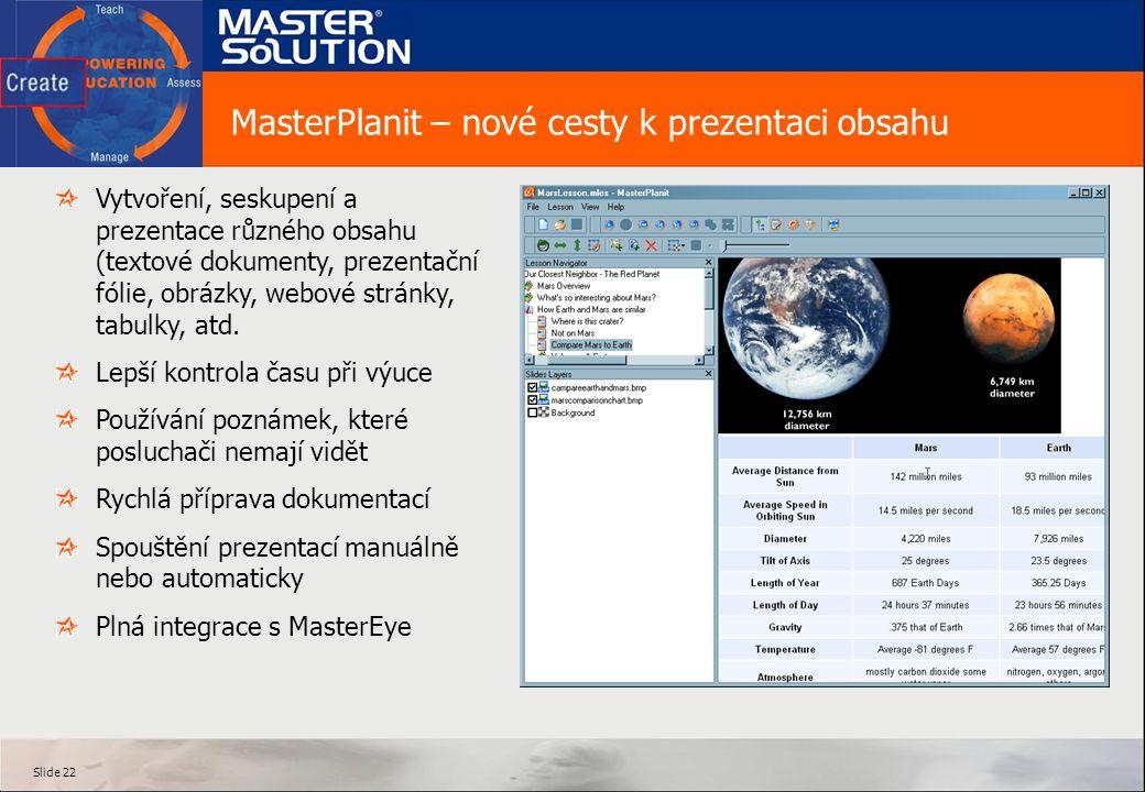 MasterPlanit – nové cesty k prezentaci obsahu