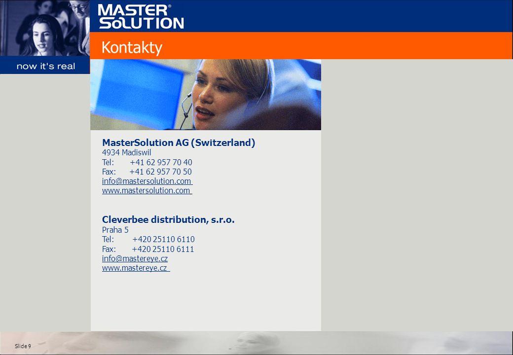 Kontakty MasterSolution AG (Switzerland)