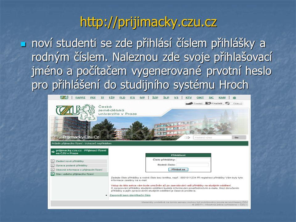 http://prijimacky.czu.cz