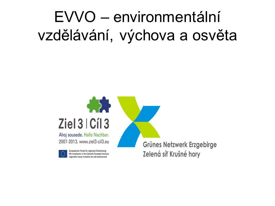 EVVO – environmentální vzdělávání, výchova a osvěta