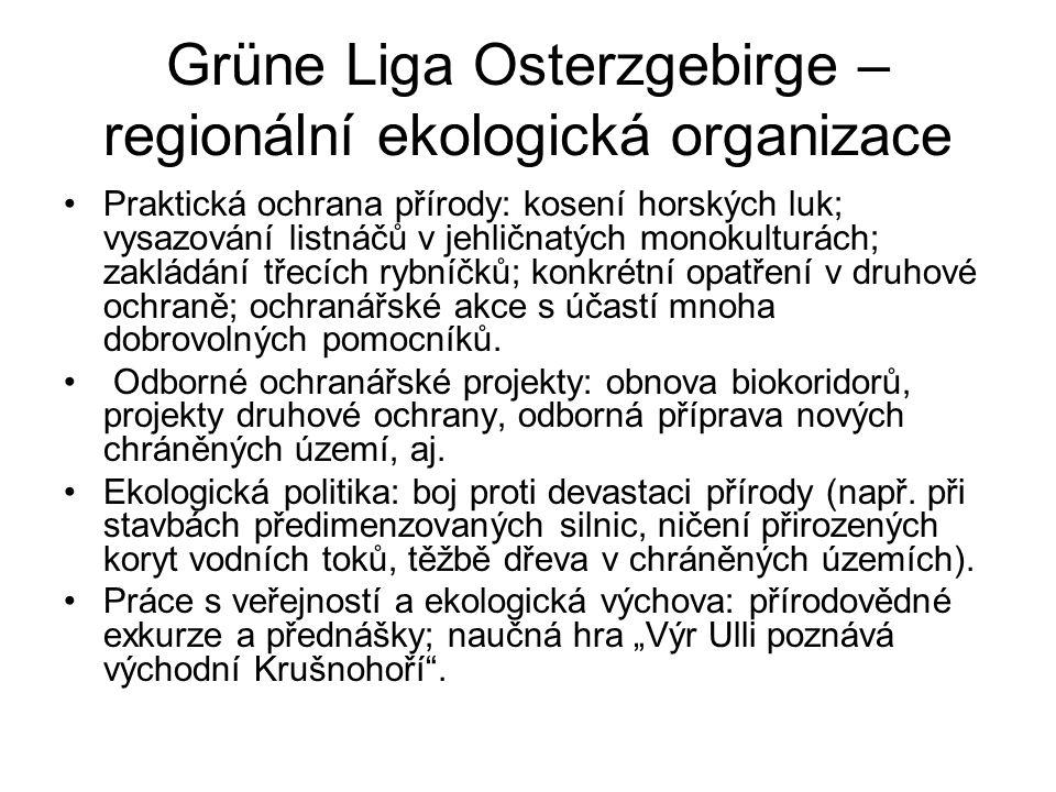 Grüne Liga Osterzgebirge – regionální ekologická organizace
