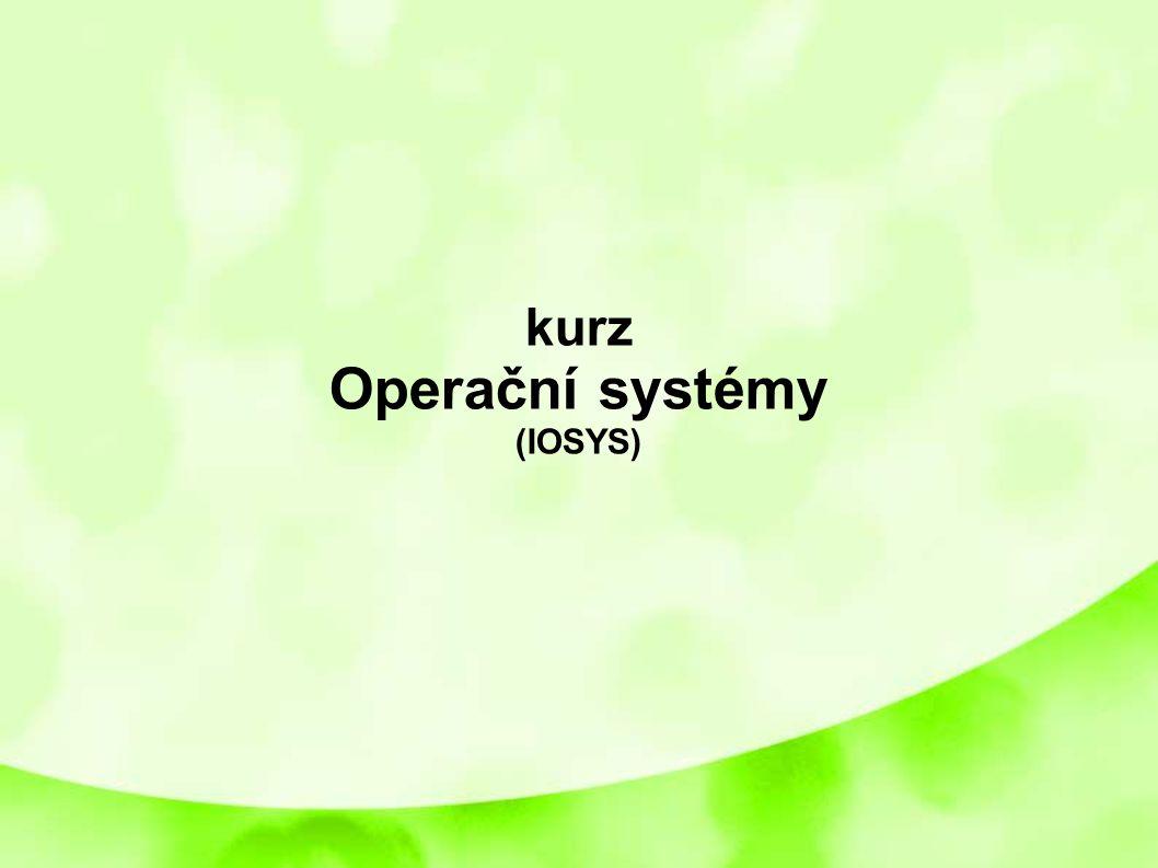 kurz Operační systémy (IOSYS) 1