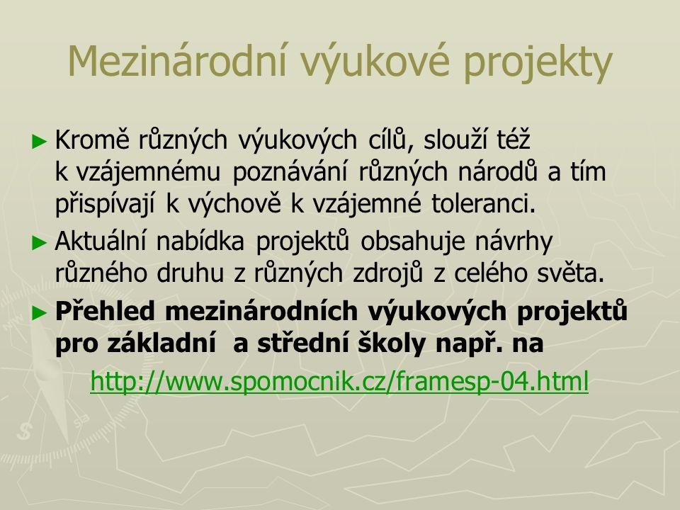 Mezinárodní výukové projekty