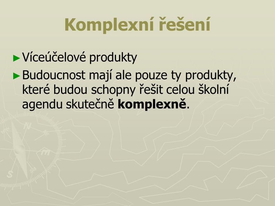 Komplexní řešení Víceúčelové produkty