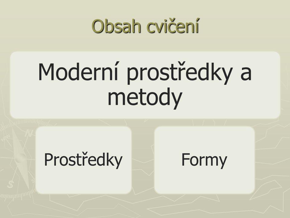 Moderní prostředky a metody