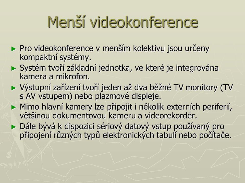 Menší videokonference