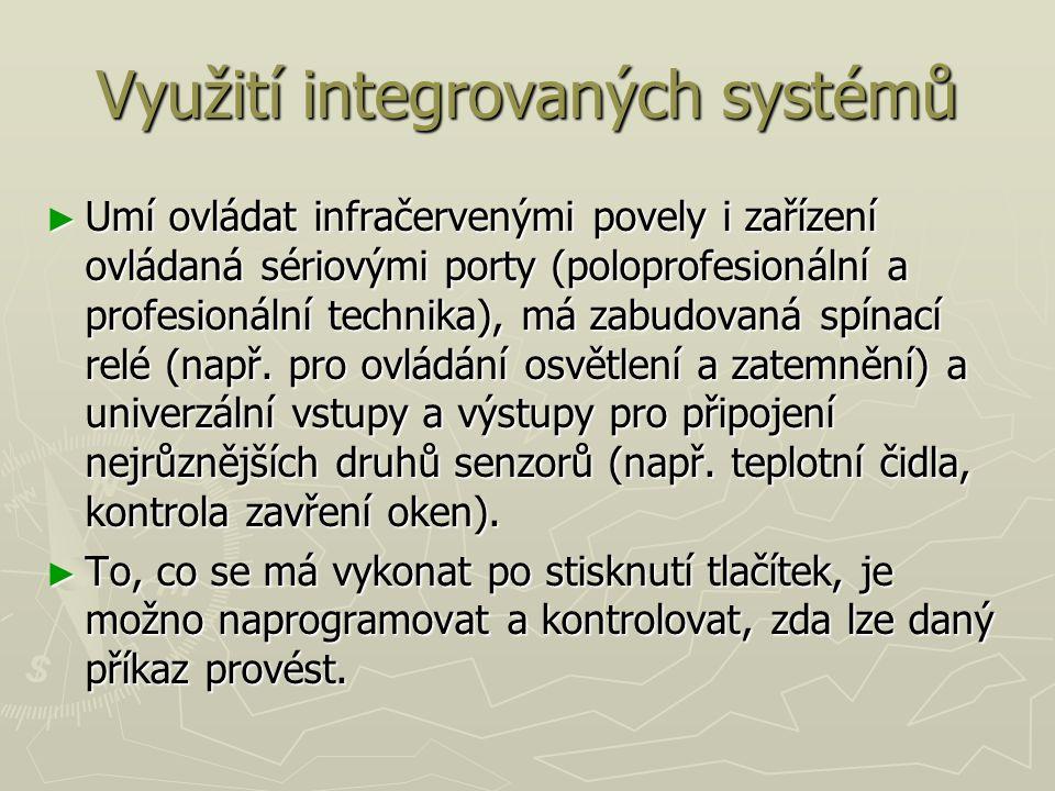 Využití integrovaných systémů