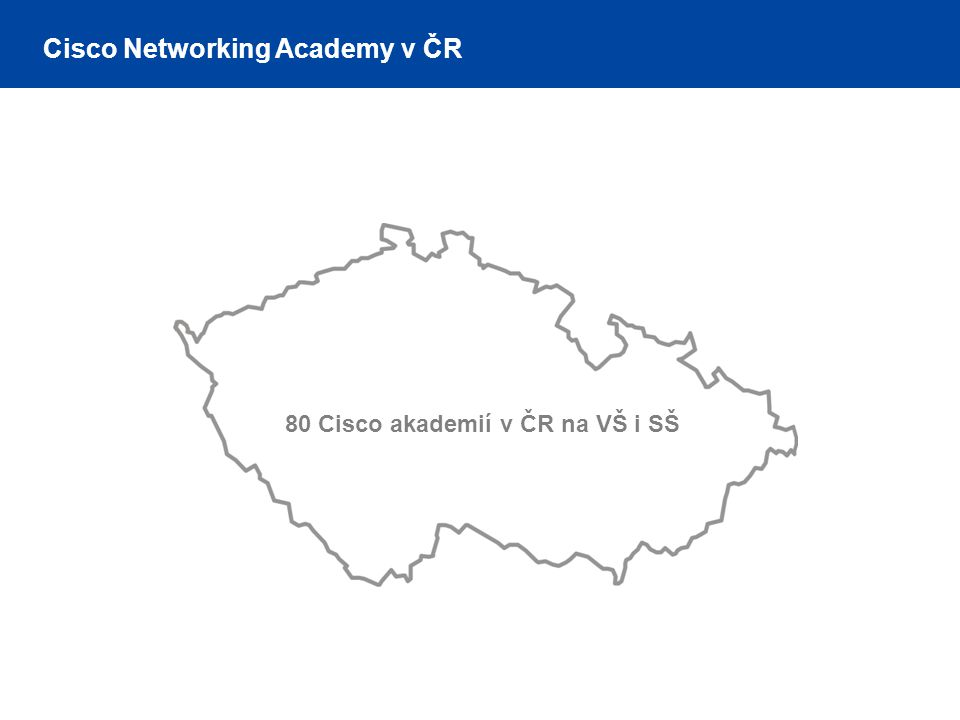 Cisco Networking Academy v ČR