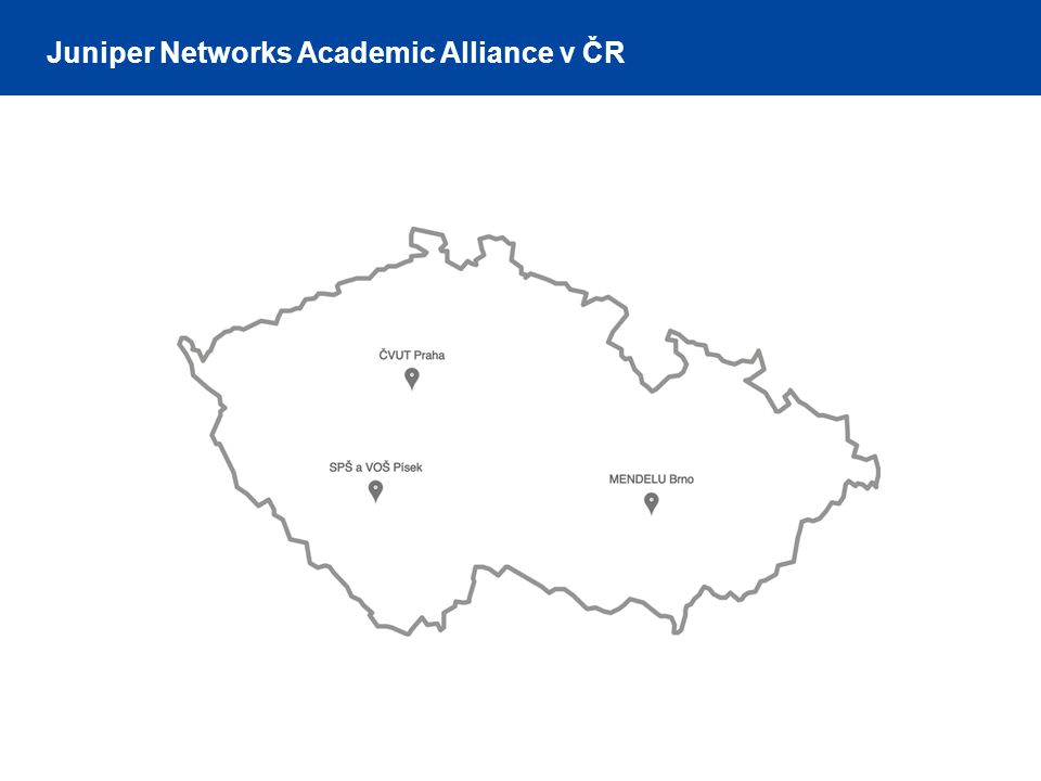 Juniper Networks Academic Alliance v ČR