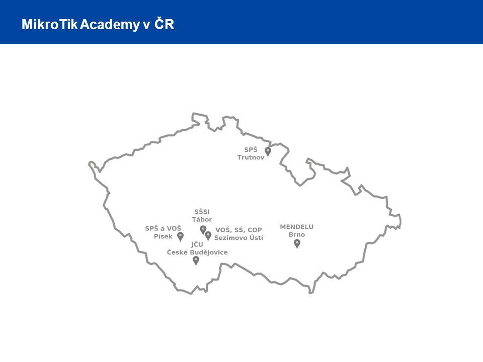 MikroTik Academy v ČR