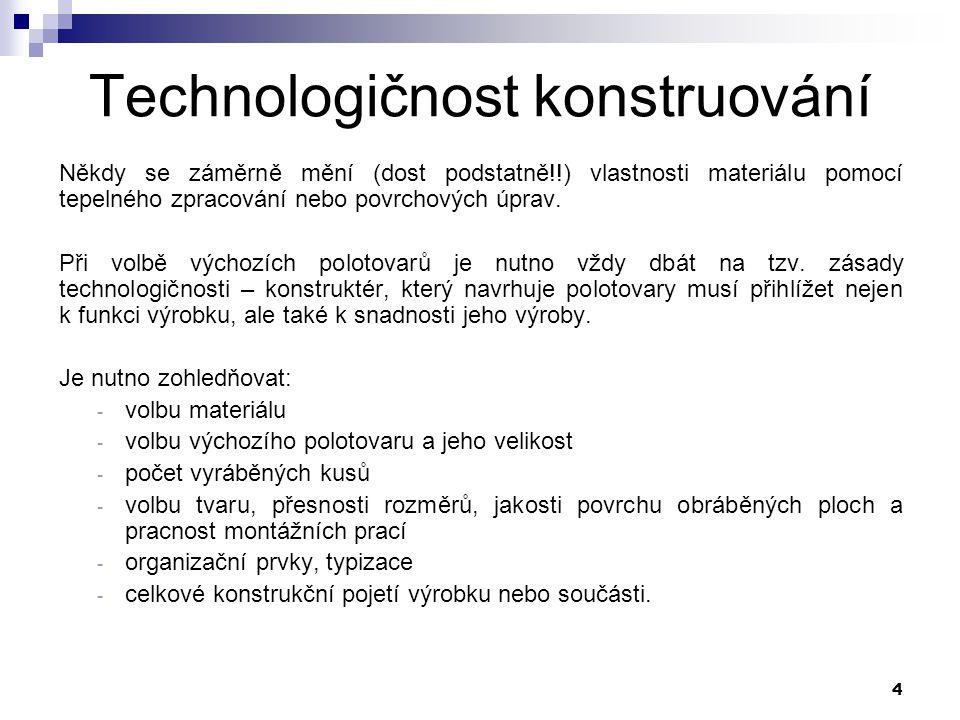 Technologičnost konstruování
