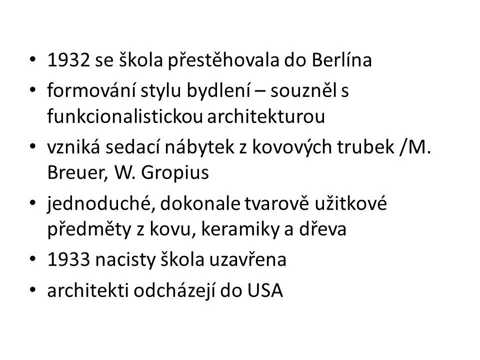 1932 se škola přestěhovala do Berlína