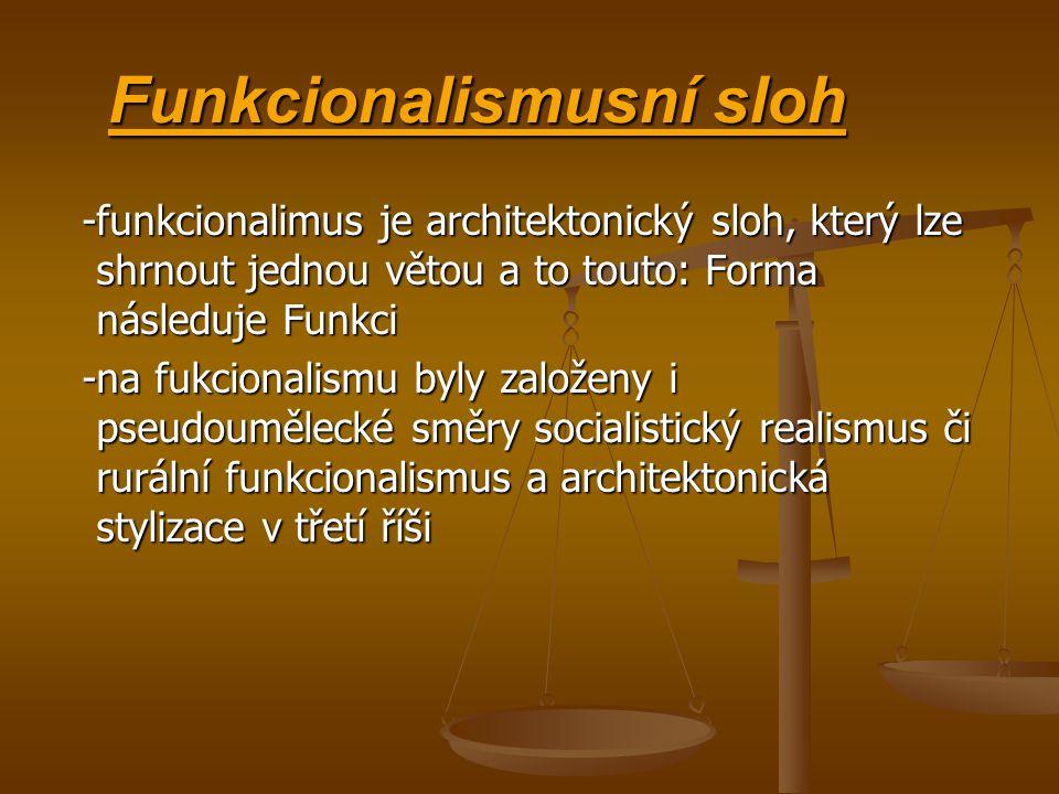 Funkcionalismusní sloh