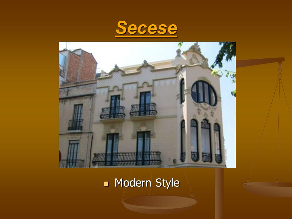 Secese Modern Style
