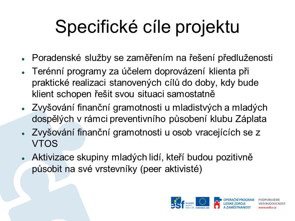 Specifické cíle projektu