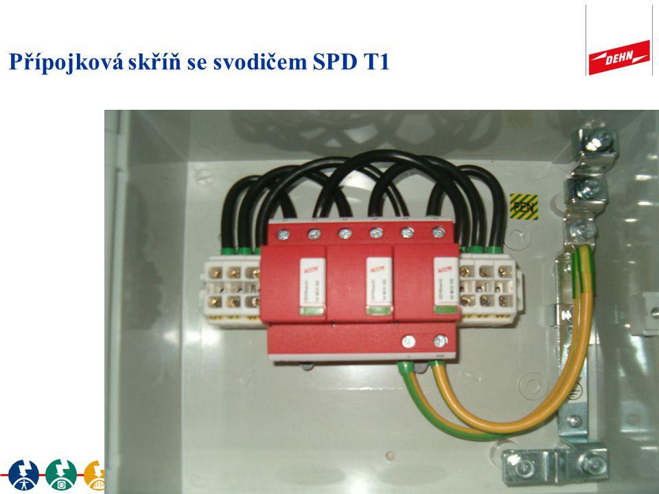 Přípojková skříň se svodičem SPD T1