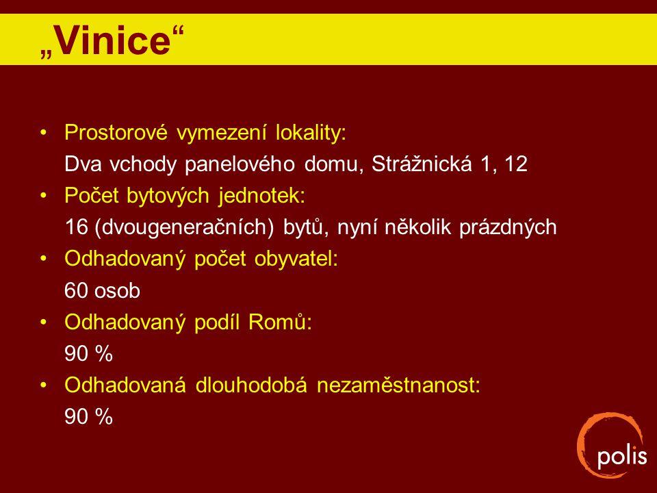 """""""Vinice Prostorové vymezení lokality:"""