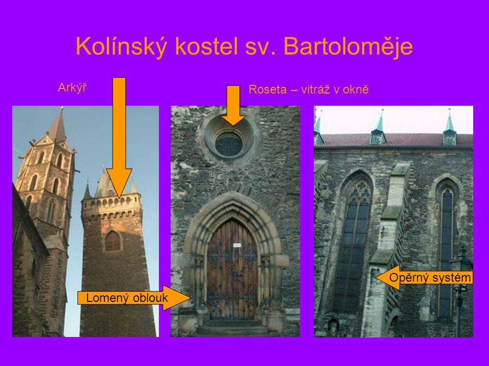 Kolínský kostel sv. Bartoloměje