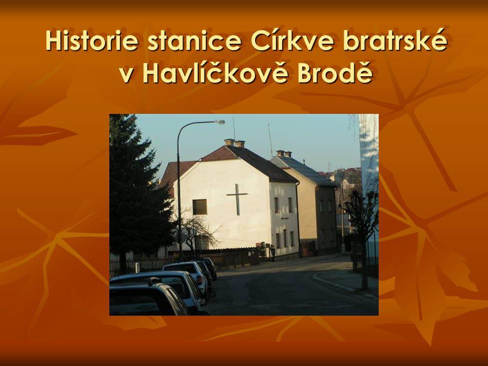 Historie stanice Církve bratrské v Havlíčkově Brodě