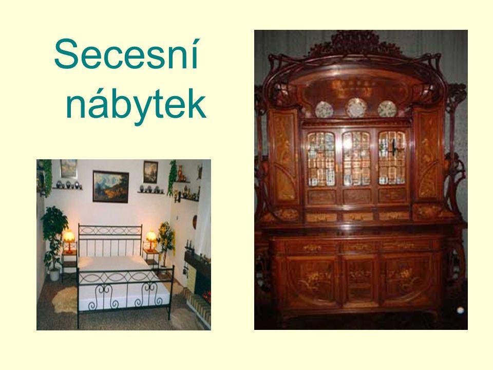 Secesní nábytek