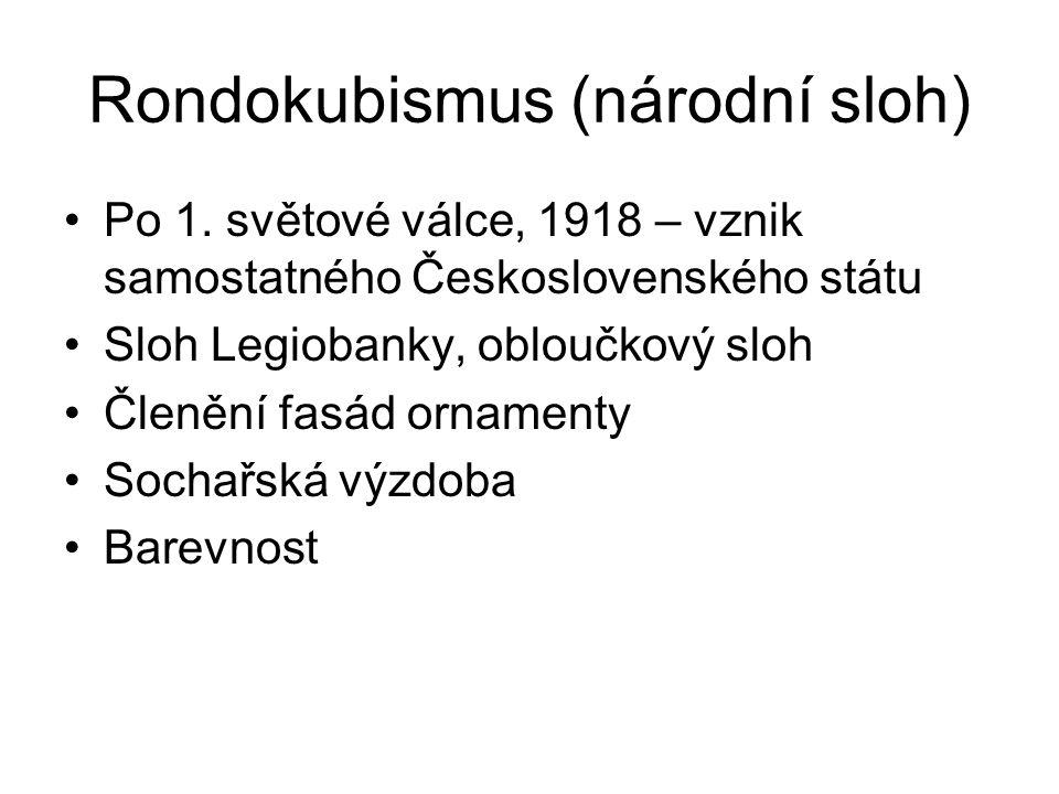Rondokubismus (národní sloh)