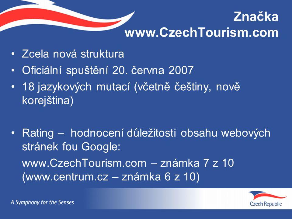 Značka www.CzechTourism.com