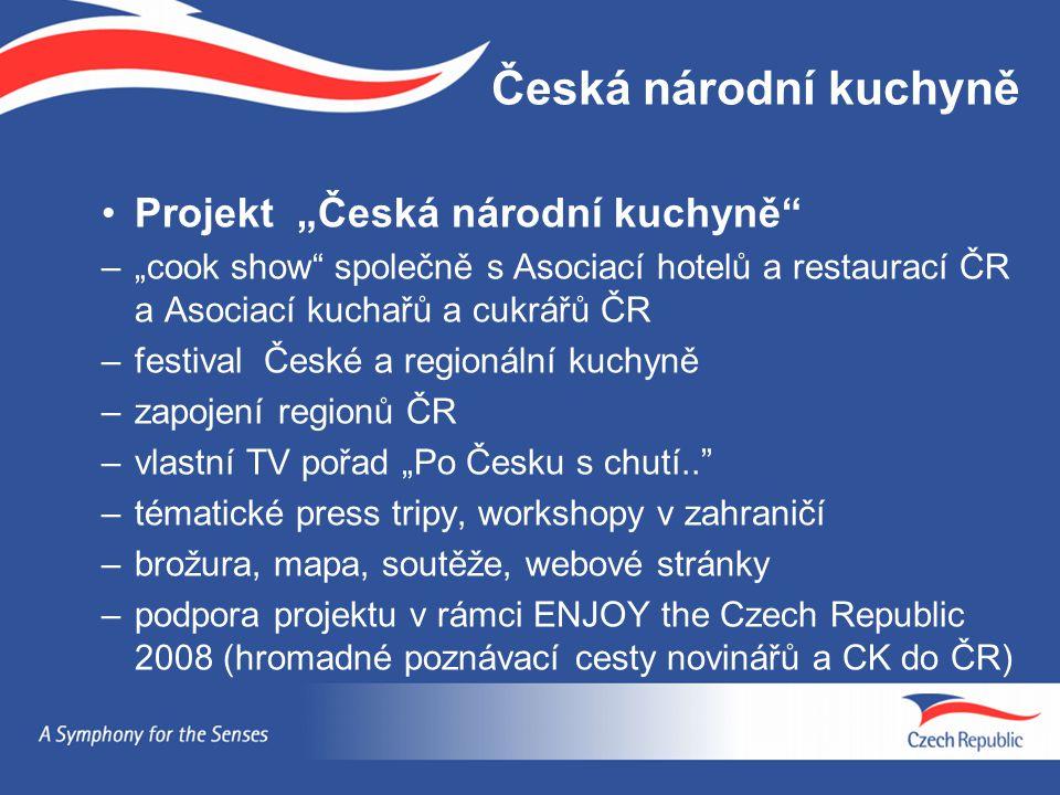 """Česká národní kuchyně Projekt """"Česká národní kuchyně"""