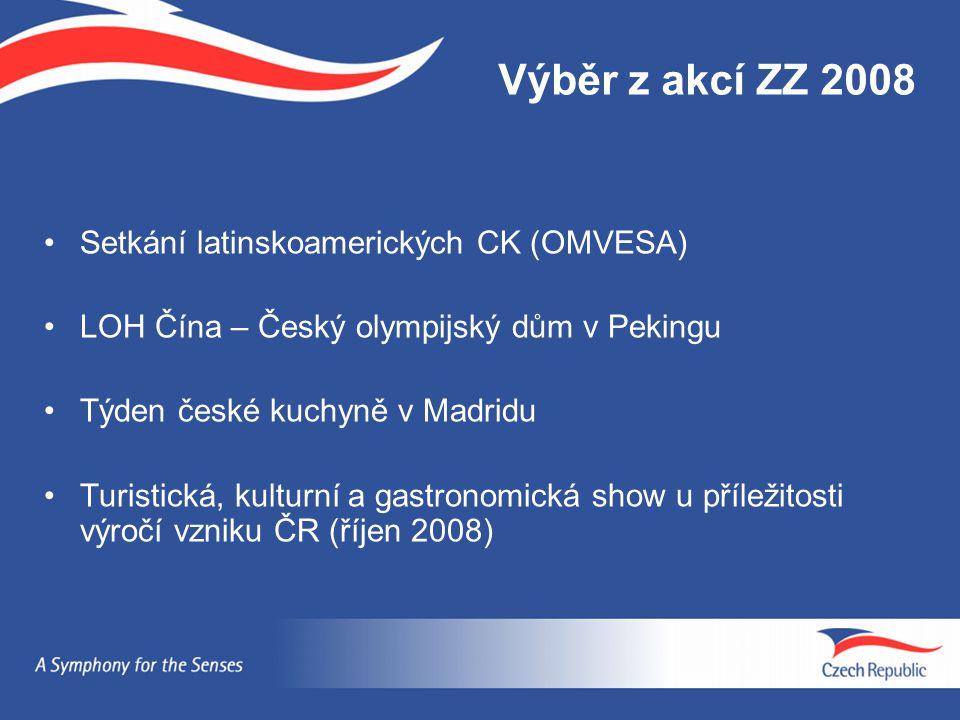Výběr z akcí ZZ 2008 Setkání latinskoamerických CK (OMVESA)