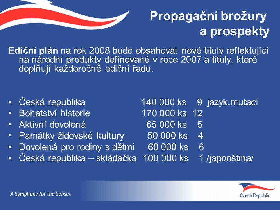 Propagační brožury a prospekty