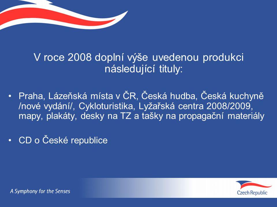 V roce 2008 doplní výše uvedenou produkci následující tituly:
