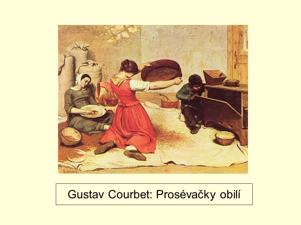 Gustav Courbet: Prosévačky obilí