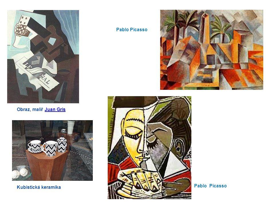 Pablo Picasso Obraz, malíř Juan Gris Kubistická keramika Pablo Picasso